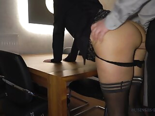 Free SpankBang stockings creampie
